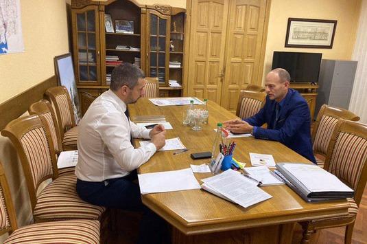 Встреча с Александром Стадником — губернатором Николаевской области